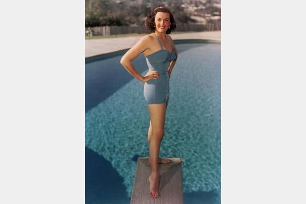 """Jane Russell, décolleté """"plongeoir"""""""