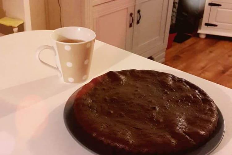 Gâteau au chocolat en 5 ingrédients