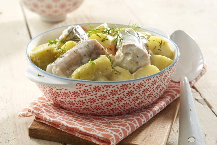 Saumonette et ses pommes de terre Ratte du Touquet