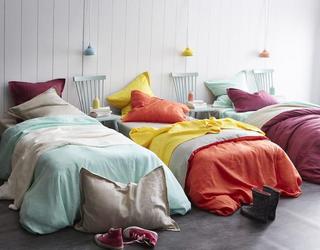 Parure de lit en lin Cottage par Essix Home Collection