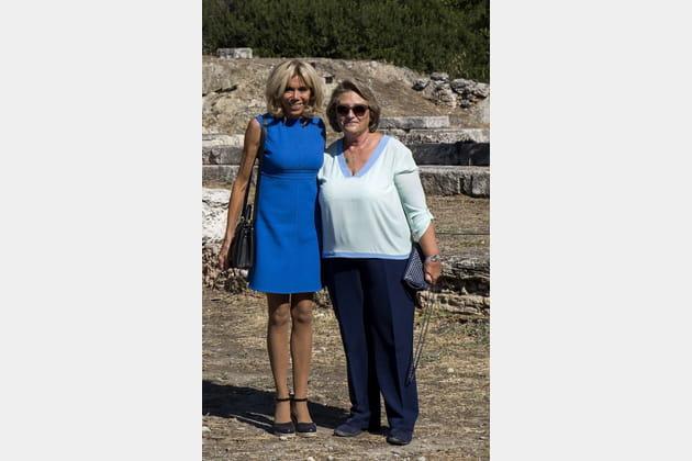 Brigitte Macron le 8septembre 2017