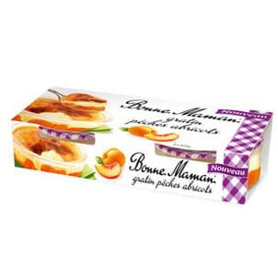 gratin pêches-abricots