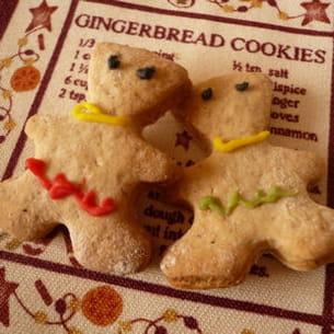 petits gâteaux au gingembre