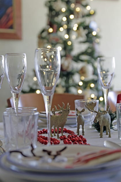En images, repérage des bonnes idées pour une table de Noël réussie