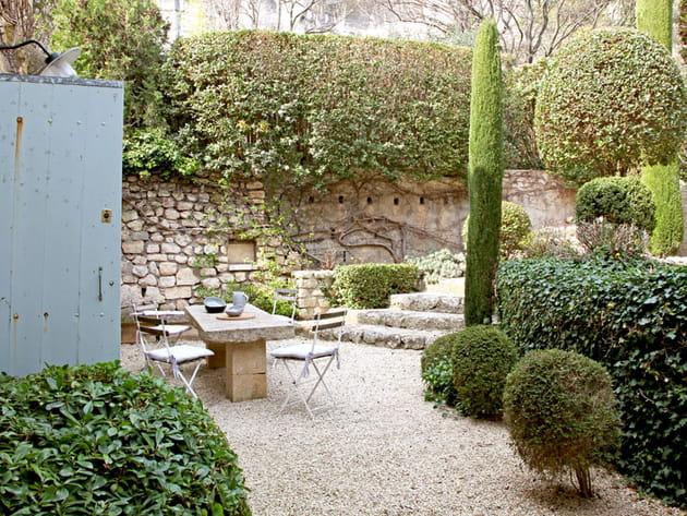 Un jardin en terrasse