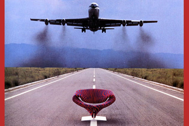 Pierre Paulin : le fauteuil Ribbon