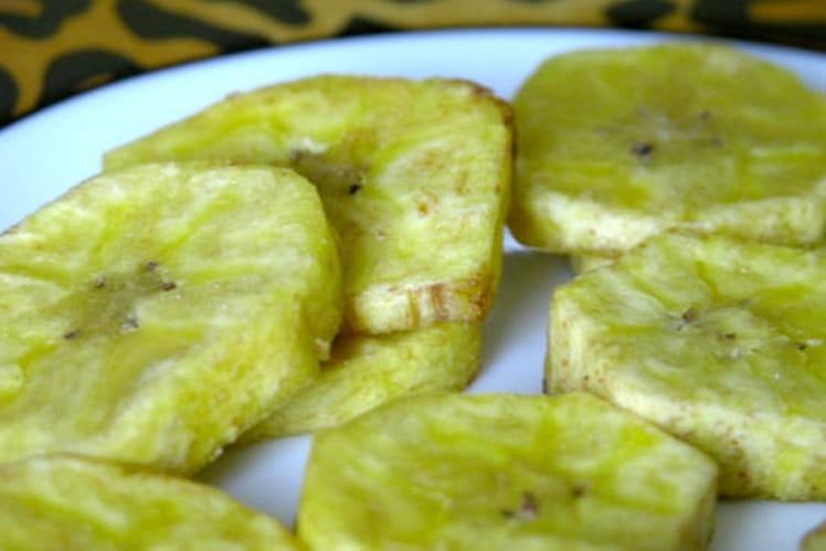 Bananes plantain frites