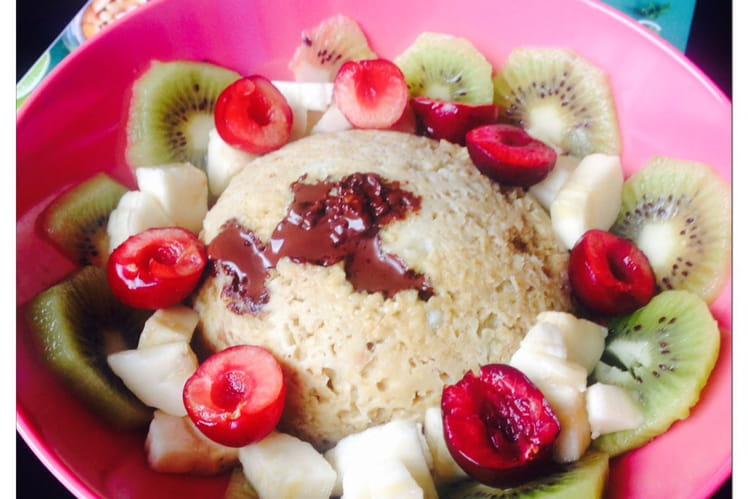 Bowlcake banane chocolat