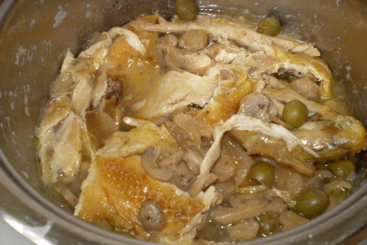 Fricassée de poulet