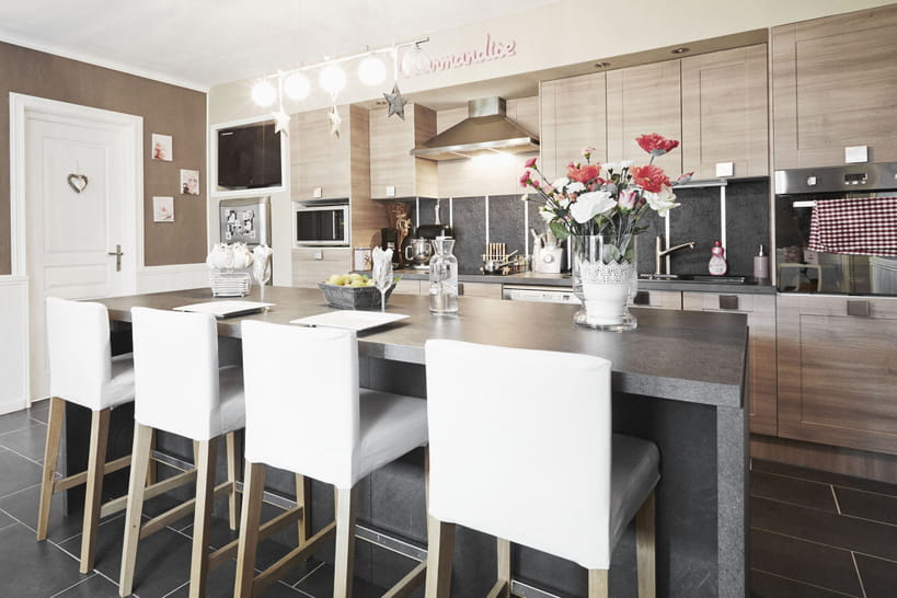 la cuisine leroy merlin en 10 mod les. Black Bedroom Furniture Sets. Home Design Ideas