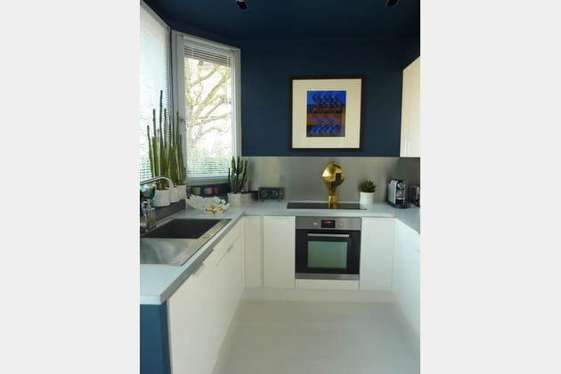 Une cuisine de l'espace