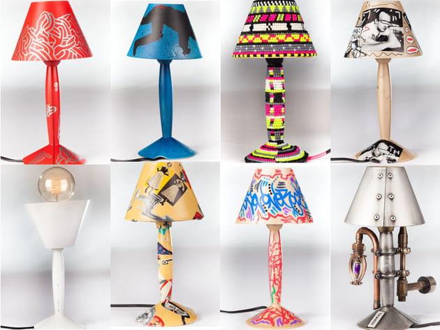 60lampes Miss Sissi customisées en exclusivité