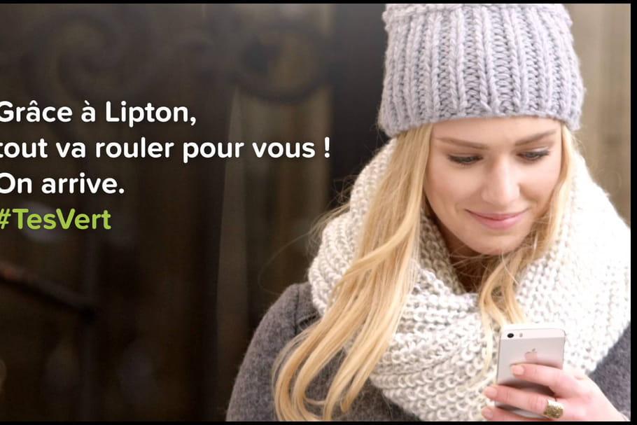 Lipton lutte contre la morosité hivernale avec l'opération #TesVert