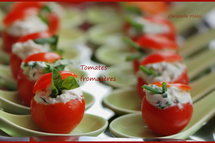 Tomates fromagères