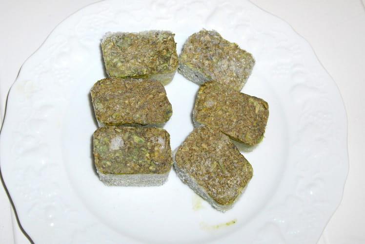 Sauce ensoleillée au basilic (conservation)