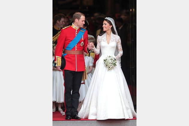 Kate Middleton le 29avril 2011