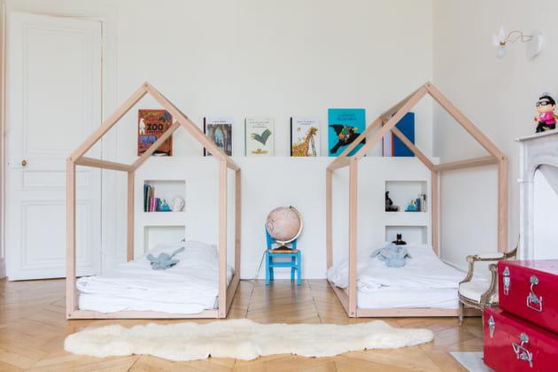 Chambre cabanes pour les enfants