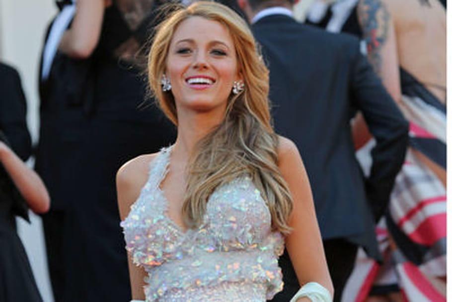 Le look people du jour spécial Cannes 2014: Blake Lively, sirène en Chanel