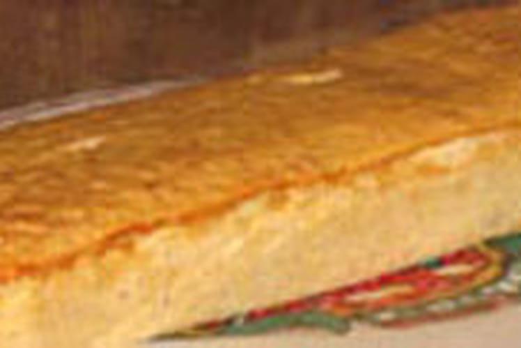 Flan de thon au coulis de poireau
