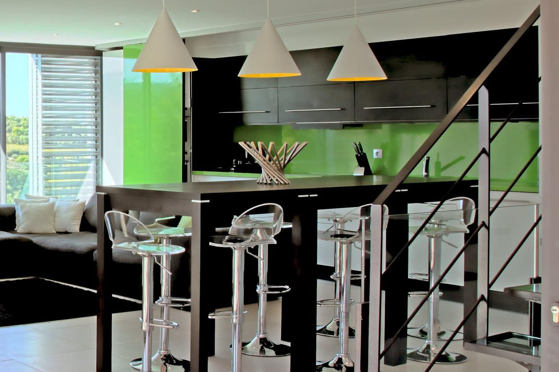 Meuble De Cuisine Vert Anis des cuisines vertes pleines de peps