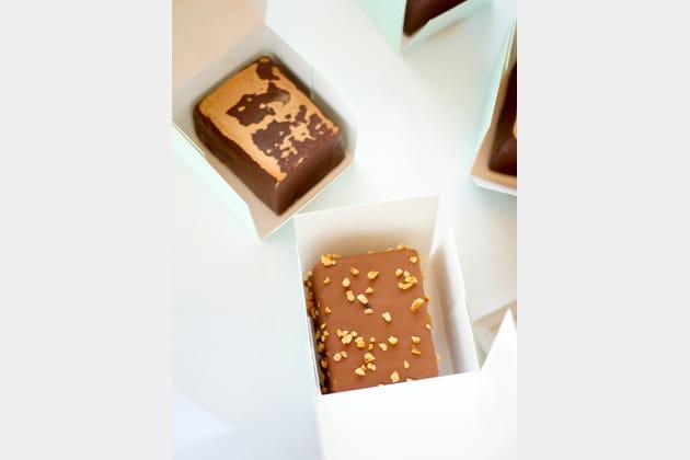 Cakes marbré et à la noisette de Yann Couvreur