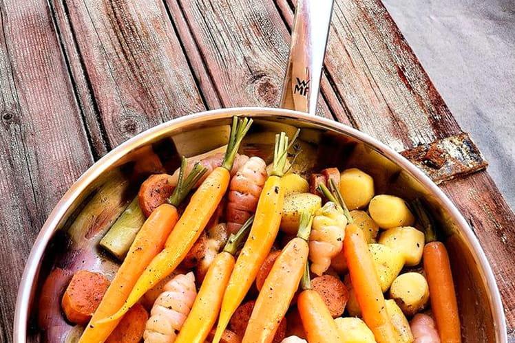 Légumes de saison glacées