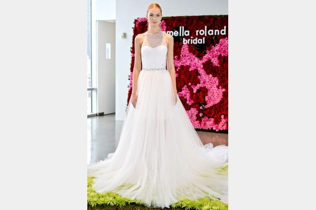 La robe longue Pamella Roland
