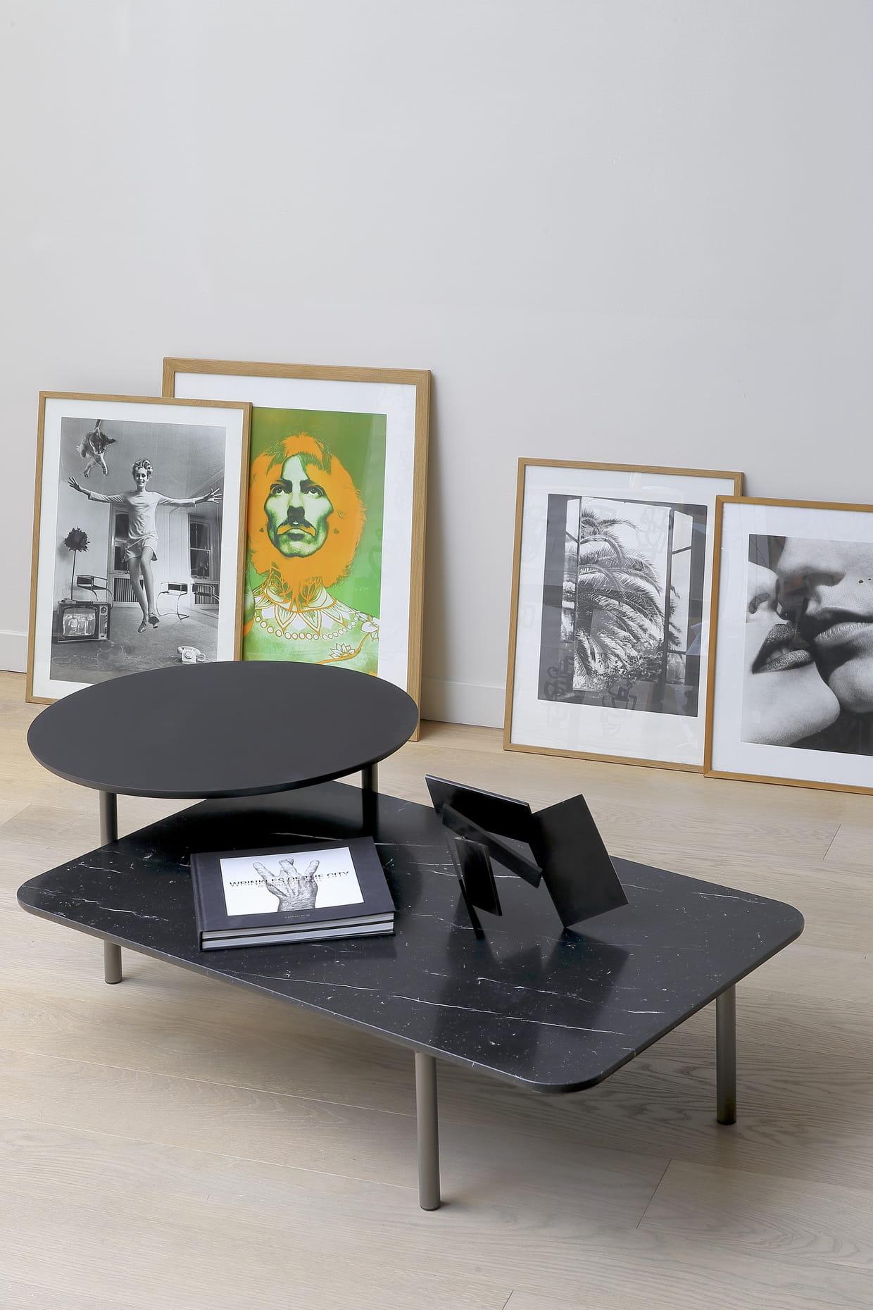 table bitop par rodolfo dordoni pour coedition chez silvera bac. Black Bedroom Furniture Sets. Home Design Ideas