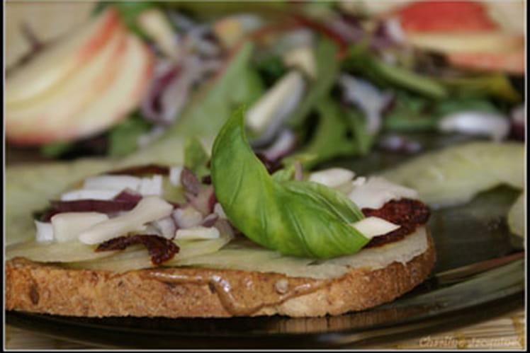 Salade complète à en remettre une tartine