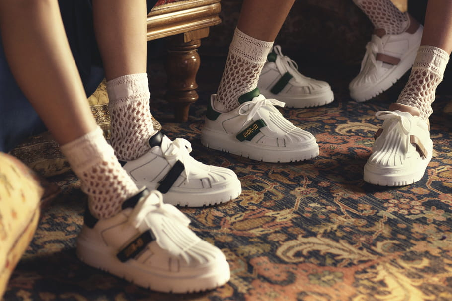 Dior-iD, la basket à pied d'oeuvre