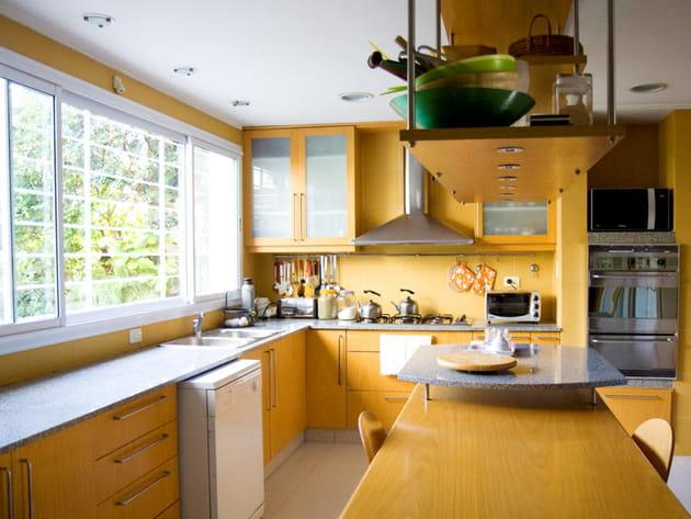 Une cuisine pratique et agréable