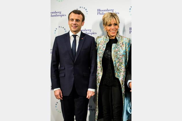 Brigitte Macron le 11décembre 2017