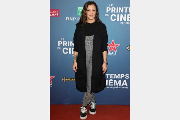 FLOP: Camille Lellouche en combinaison coton