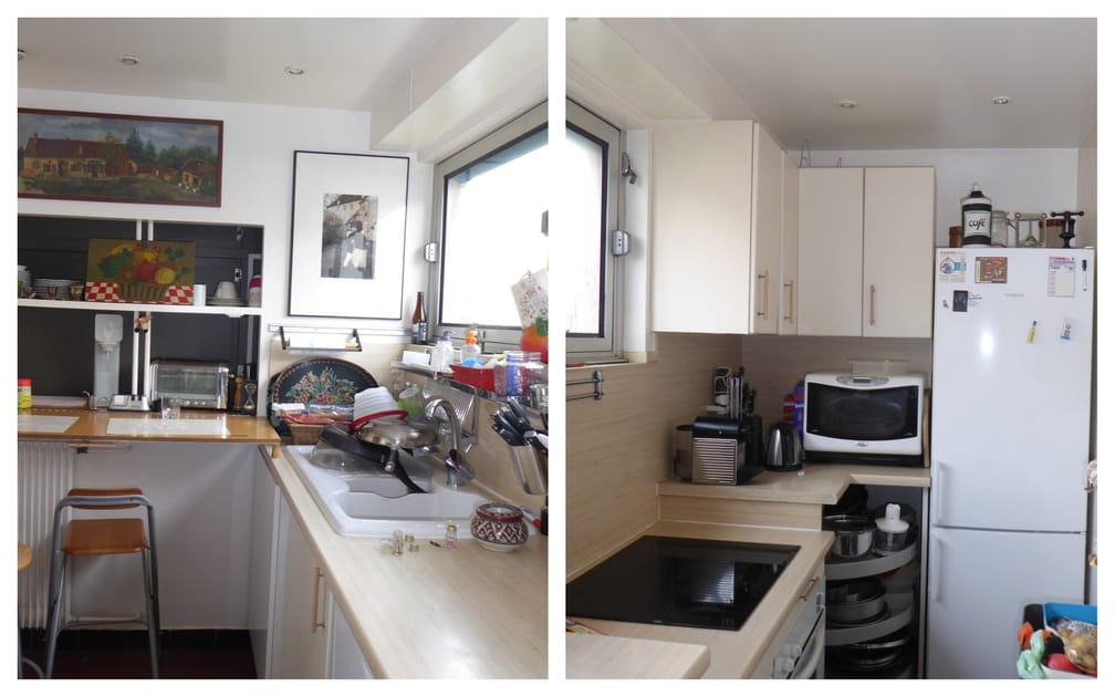 Avant: une cuisine ordinaire et un peu étriquée