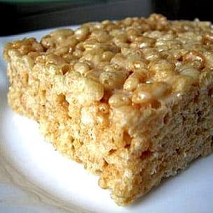 riz soufflé et marshmallow