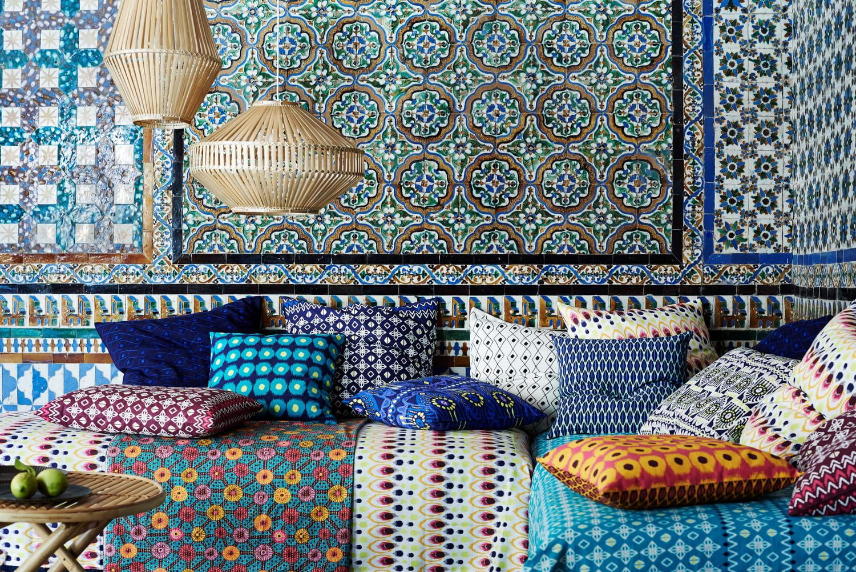Déco wax: ce tissu tendance africain modernisé à la maison
