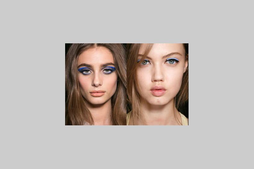 14 idées make-up pour que nos yeux voient la vie en bleu