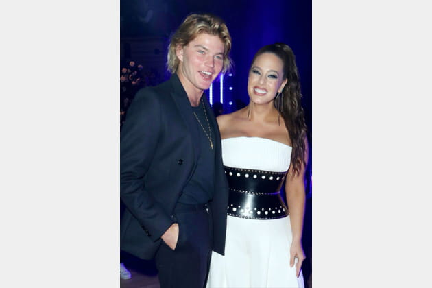 Jordan Barrett et Ashley Graham