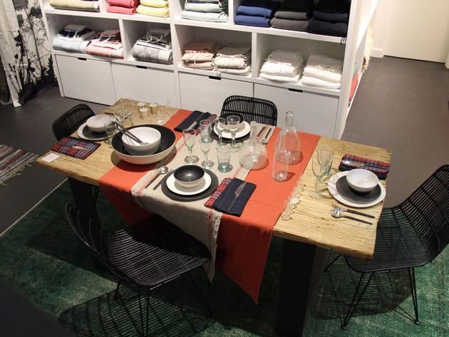 A table chez Caravane!