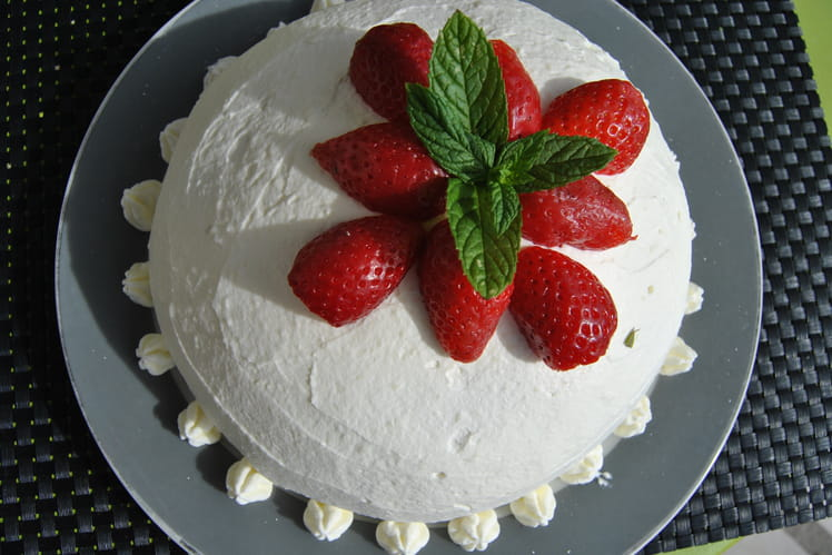 Dome aux fraises