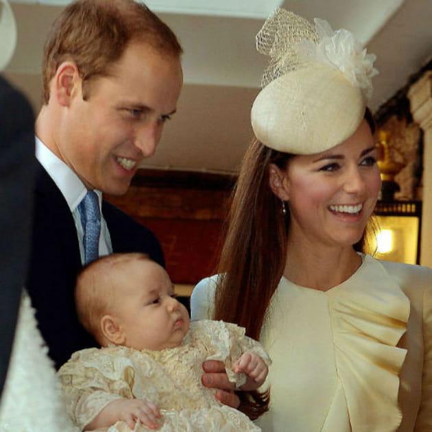 Kate et William font baptiser le Prince George