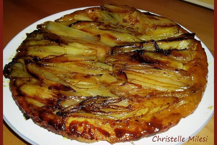 Recette de tatin d 39 endives la recette facile - Cuisiner endives au jambon ...