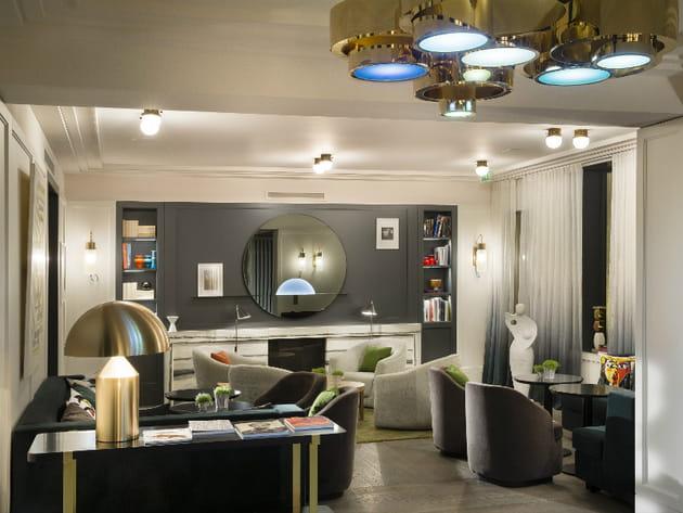 Un lobby axé sur l'art et le design