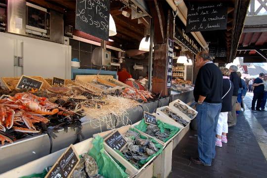 Le marché de Deauville