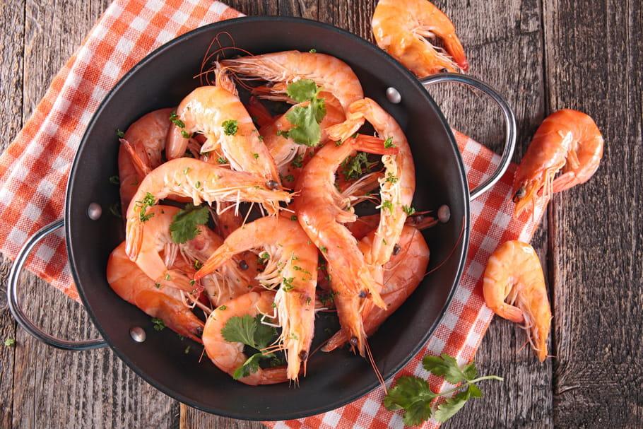 Comment cuire des crevettes vivantes?
