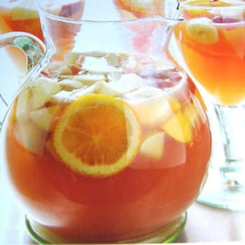 Sangria blanche for Alcool cuisine grossesse