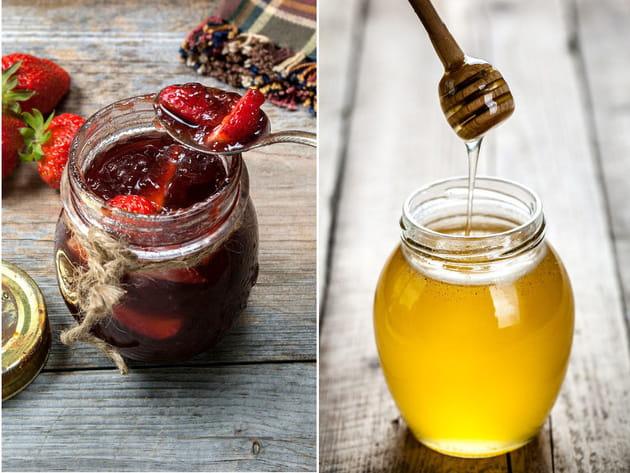 Confiture de fraise ou miel ?