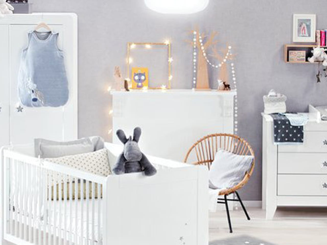 Chambre de bébé : une déco mixte pour fille et garçon