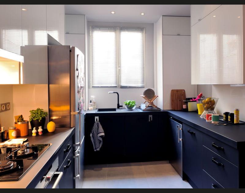 Après: une cuisine contemporaine et fonctionnelle