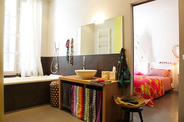 Une salle de bains pleine de pep's